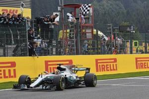 Hamilton wins.