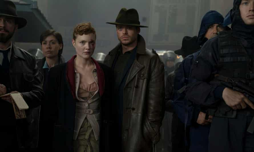 Holliday Grainger and Richard Madden in Philip K Dick's Electric Dreams.