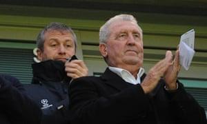 Bobby Campbell pictured alongside Roman Abramovich at Stamford Bridge in November 2012.