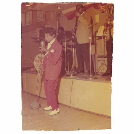 Jackie Shane, who often wore pants on stage. 'Most people thought I was a lesbian.'