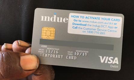 The cashless welfare cards quarantine 80% of a welfare recipient's income.