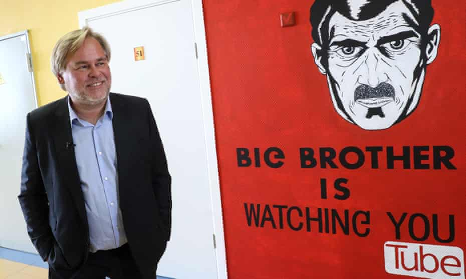 Russia's Kaspersky Lab CEO Eugene Kaspersky at a school outside Moscow. Kaspersky Lab is one of the world's largest and oldest antivirus companies.