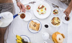 Breakfast at Dot's Bay House
