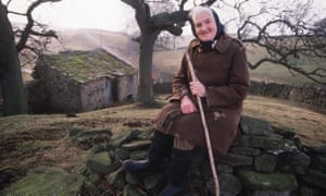 Hannah Hauxwell farmed 80 acres alone in the Yorkshire Dales, and often saw no one for weeks at a time.