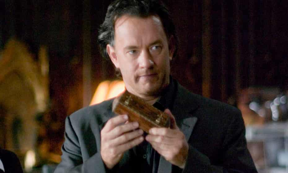 Tom Hanks as Robert Langdon in the film version of The Da Vinci Code.