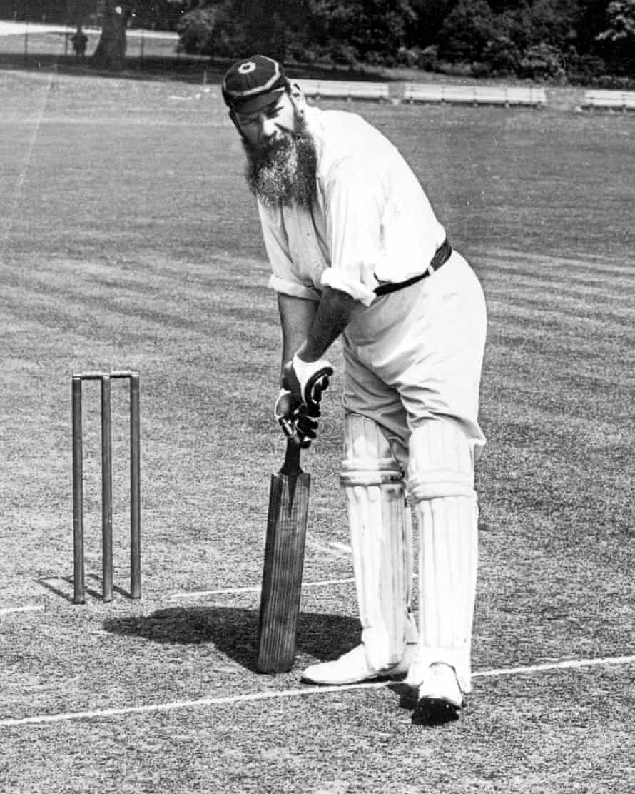The legendary WG Grace garnered two votes in the Guardian correspondents' list.