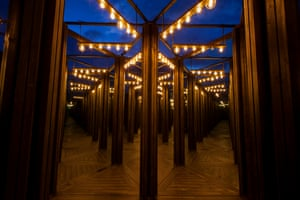 House of Mirrors by Christian Wagstaff and Keith Courtney at Dark Park