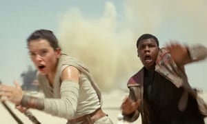 Star Wars Jakku Spy will include 'characters and vehicles that you've seen in trailers' (image from The Force Awakens trailer)