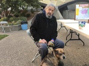 Don Martin and his dog, Ralph.