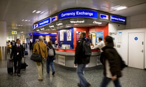 Holiday money how to find the best cards and currency rates money the guardian - Tesco bureau de change rates ...