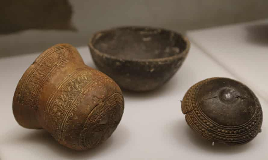 Distinctive bell-shaped pots and beakers gave Beaker folk their name.