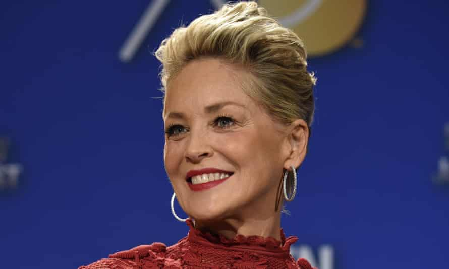 Sharon Stone … hopes stories in The Beauty of Living Twice will help other harassed actors.