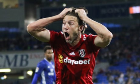Harry Arter sees red on Cardiff return but Fulham hold out for a point
