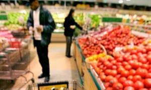 Supermarket tomatoes