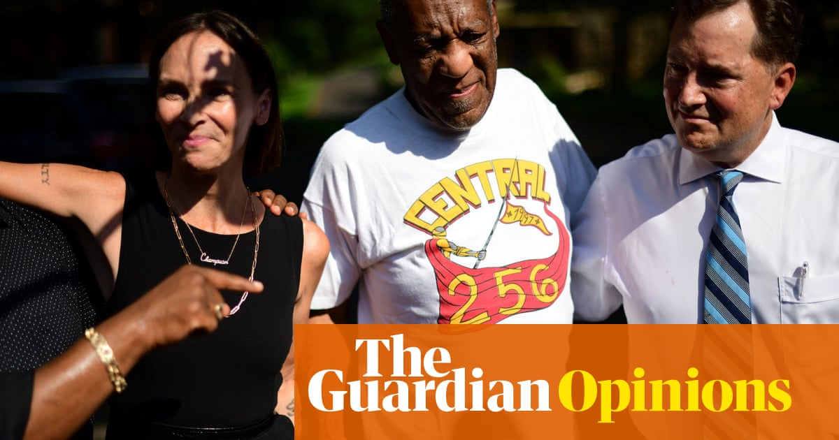 Bill Cosby's release is exactly why rape survivors don't come forward