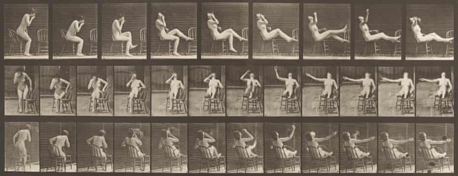 Eadweard Muybridge's Animal Locomotion Nudes, from Revelations: Experiments in Photography at Media Space, London