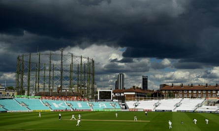 Middlesex beat Surrey by 190 runs at The Oval.