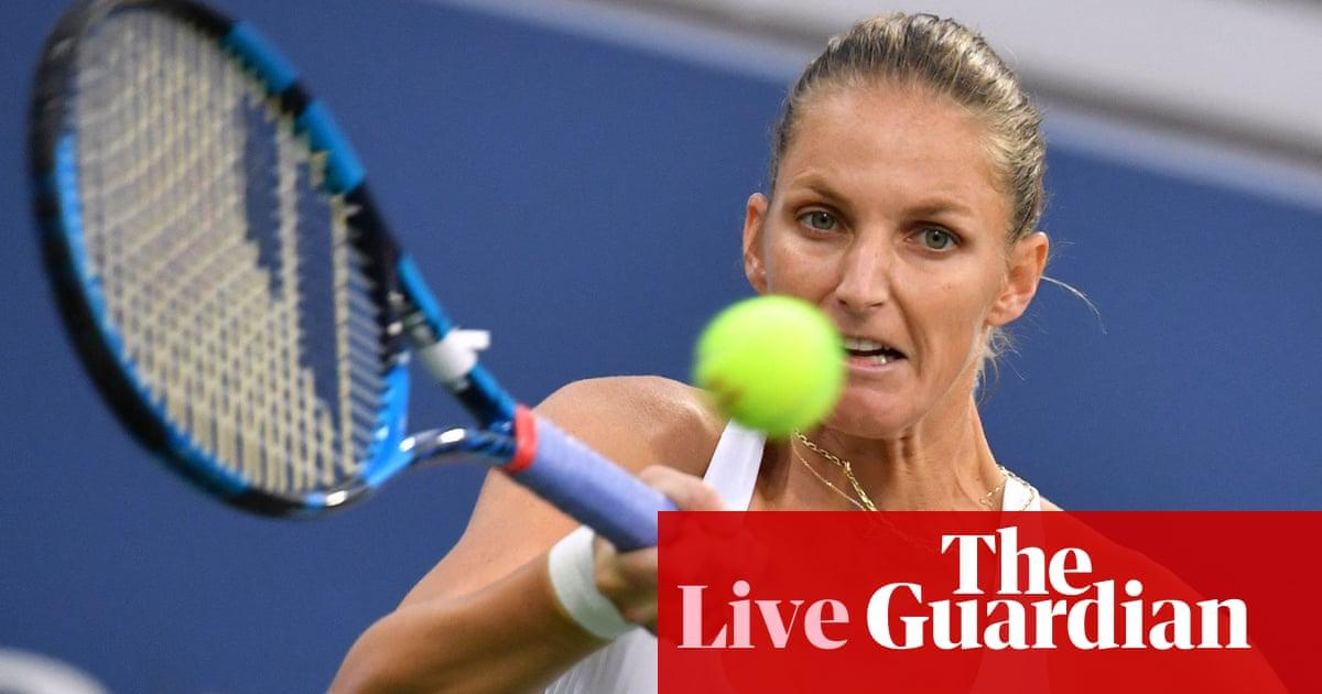 Karolína Plíšková v Maria Sakkari: US Open quarter-final – live!