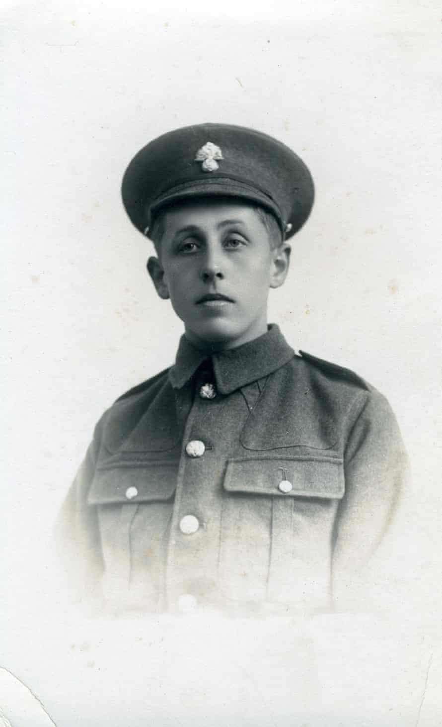 Herbert Scott in uniform.