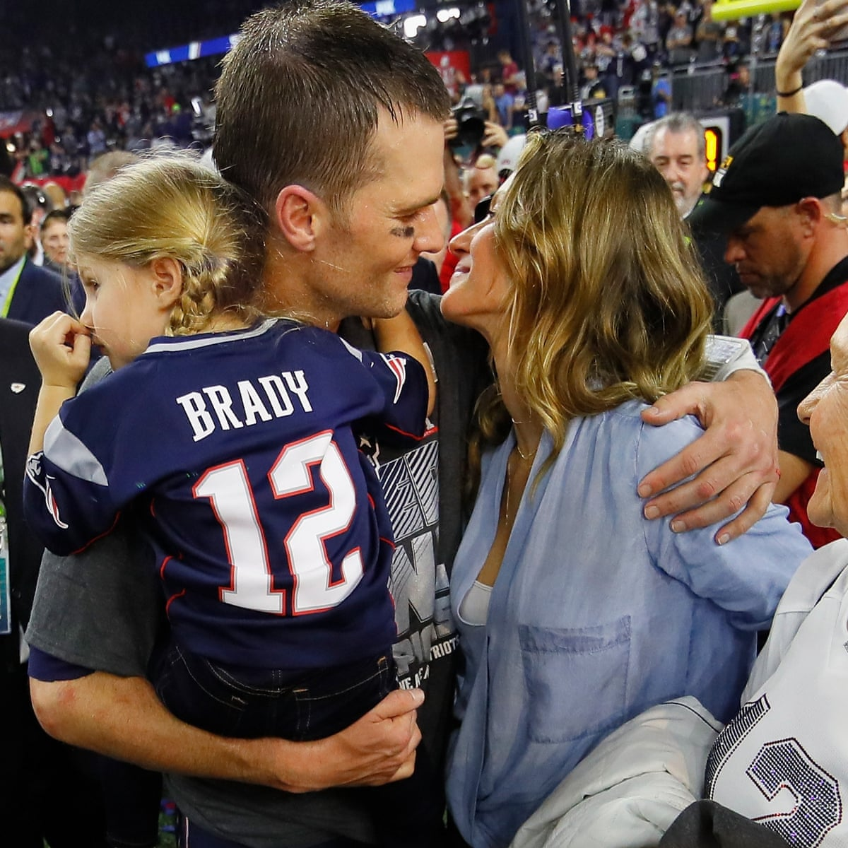Tom Brady Does Not Deny Gisele Bundchen S Concussion Claims Tom Brady The Guardian