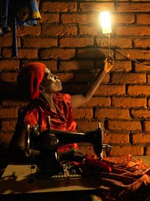 Elinati Patison, 48, seamstress in Chatsala, rural Lilongwe