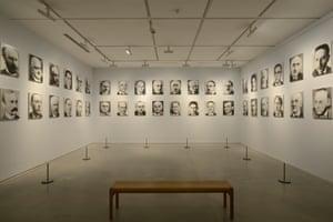 Gerhard Richter's 48 Portraits at John Hansard Gallery, Southampton.