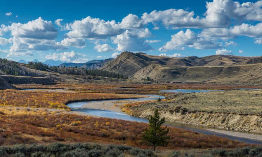 The Jackson ranger district in Bridger-Teton
