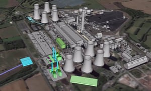 Drax is planning to build new combined cycle gas turbine generating units in Drax power station, near the town of Selby.