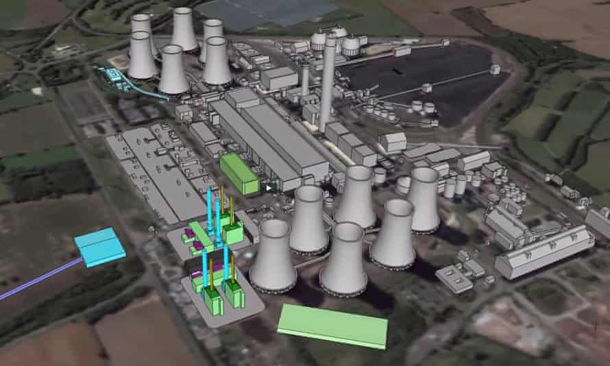 Drax is planning to build new combined cycle gas turbine (CCGT) generating units in North Yorkshire.