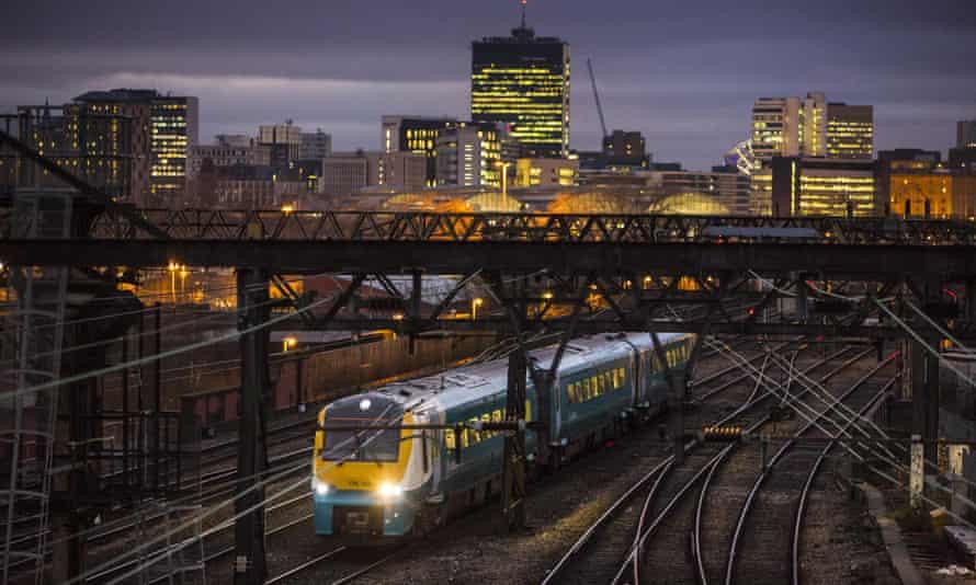Train fares will be frozen.