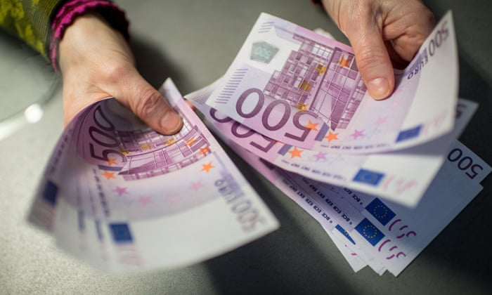 Criminal links of €500 banknote could spell its demise