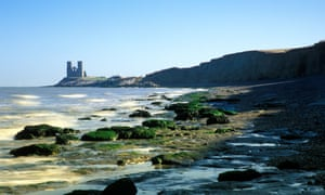An ode to mud … Reculver Towers in Herne Bay, Kent.