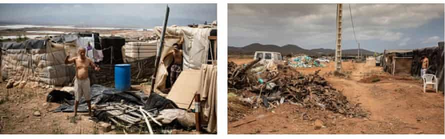 Inside the Plastic Sea is El Barranquete shantytown, where houses are constructed from dumped rubbish