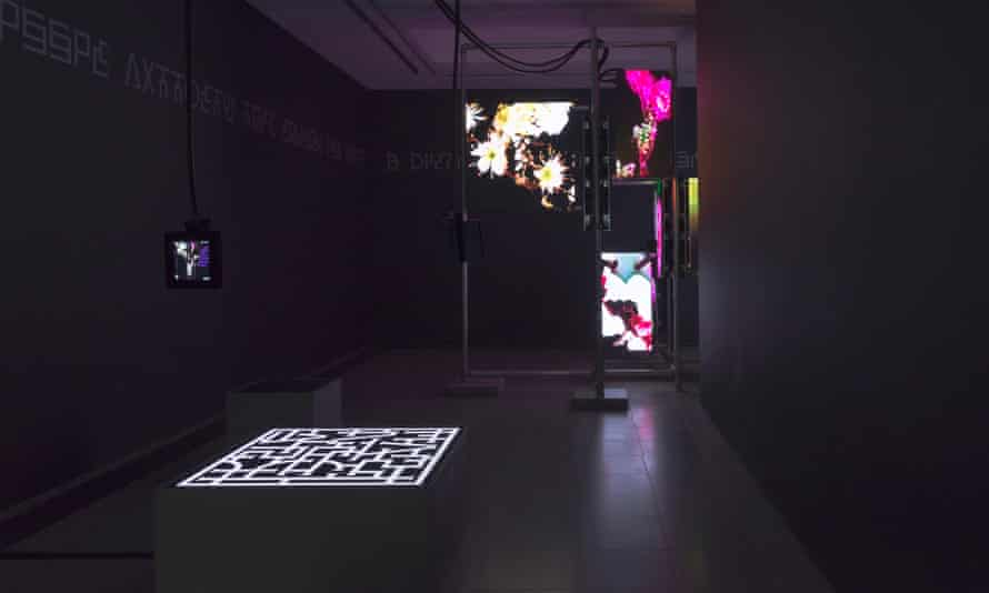 Drifts between the real and the virtual … augmented reality is part of Steyerl's Serpentine exhibition.