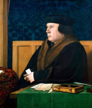 Portrait of Sir Thomas Cromwell by Hans Holbein the Younger, 1532.