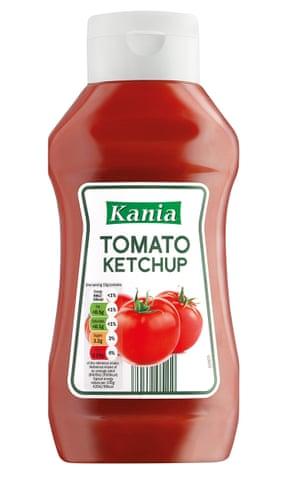 Lidl ketchup