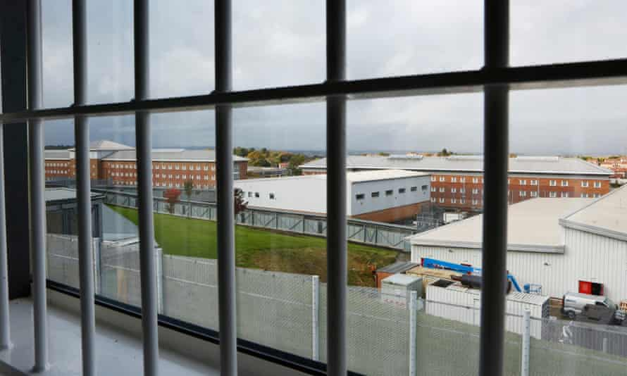 Polmont young offender institution near Edinburgh