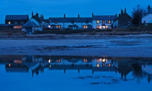 Only one cottage in Low Newton-by-the-Sea in Northumbria was converted for holiday letting.