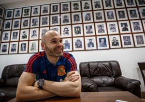 Andés Iniesta was never tempted by the Premier League. 'I was always fine where I was; I never felt the calling,' he says.