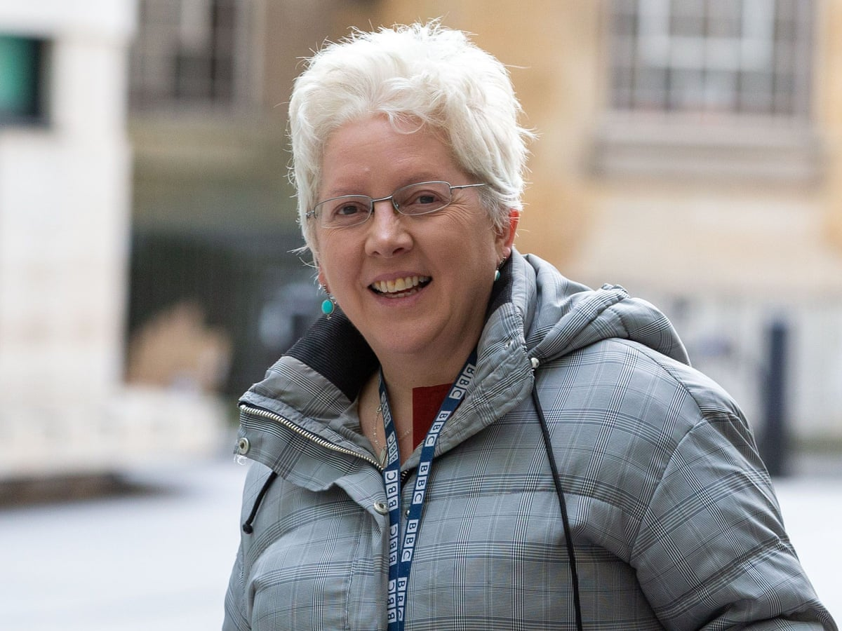 Carrie Gracie Leaves Bbc After 33 Years Bbc The Guardian