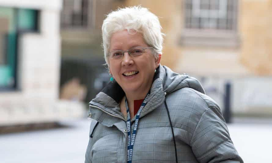 Carrie Gracie, Scottish journalist, presenter and former China editor for BBC News
