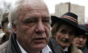 Soviet-era dissident Vladimir Bukovsky in Moscow in 2007.