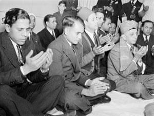 Muslims, ca. 1940