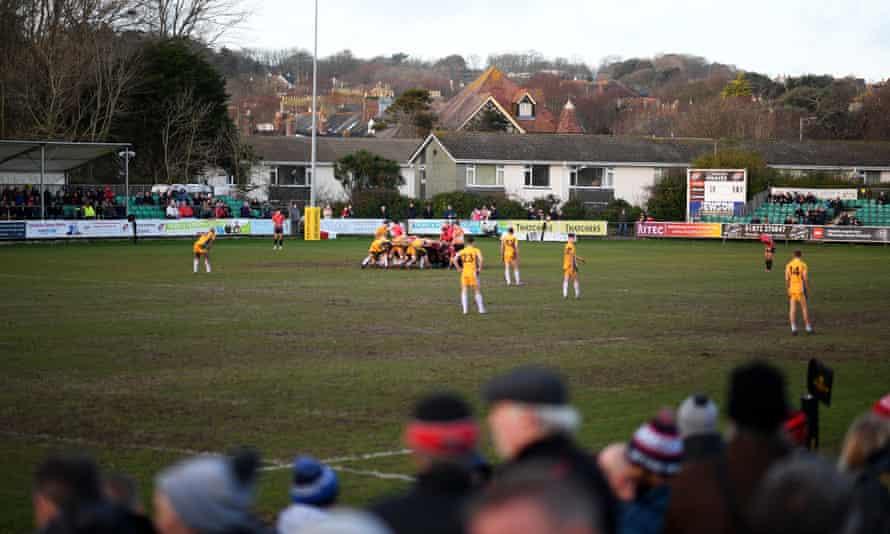 Cornish Pirates take on Yorkshire Carnegie at Mennaye Field in Penzance on 12 January 2020