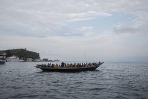 Escaping via Lake Kivu