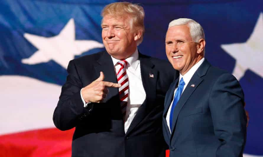 'Mike Pence, Trump's fanatically loyal vice-president, appears to have borne much of Trump's fury.'