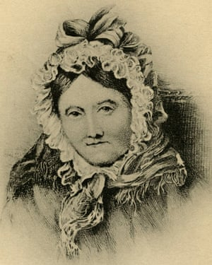 Dorothy Wordsworth, who kept house for her brother William.