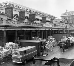 covent garden in the late 1960s