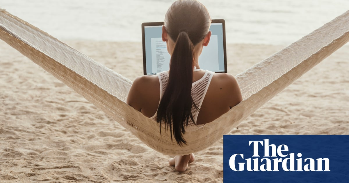 The 'workation': why working from a dream destination isn't all sunshine