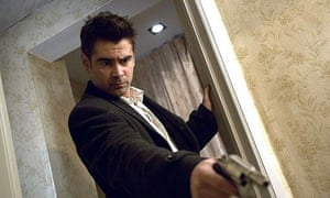 Dangerously bored ... Colin Farrell in In Bruges.